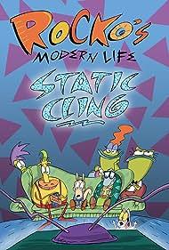 Charlie Adler, Carlos Alazraqui, Tom Kenny, and Joe Murray in Rocko's Modern Life: Static Cling (2019)