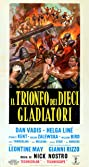 Triumph of the Ten Gladiators (1964) Poster
