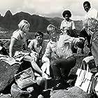 Lloyd Bridges, Anne Francis, and Bobby Van in Lost Flight (1970)