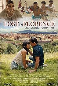 Alessandro Preziosi, Stana Katic, Alessandra Mastronardi, and Brett Dalton in Lost in Florence (2017)