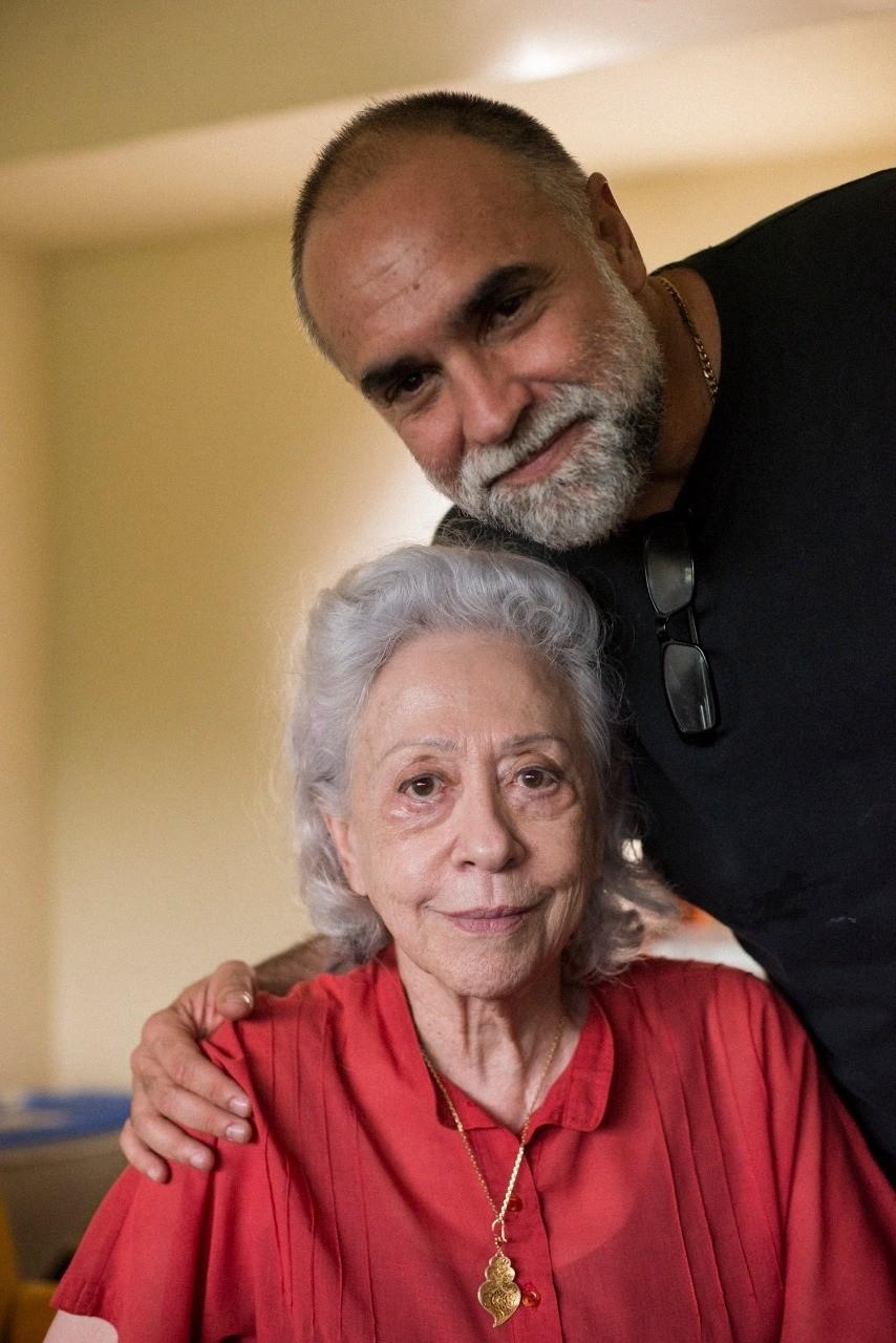Fernanda Montenegro and Karim Aïnouz in A Vida Invisível (2019)