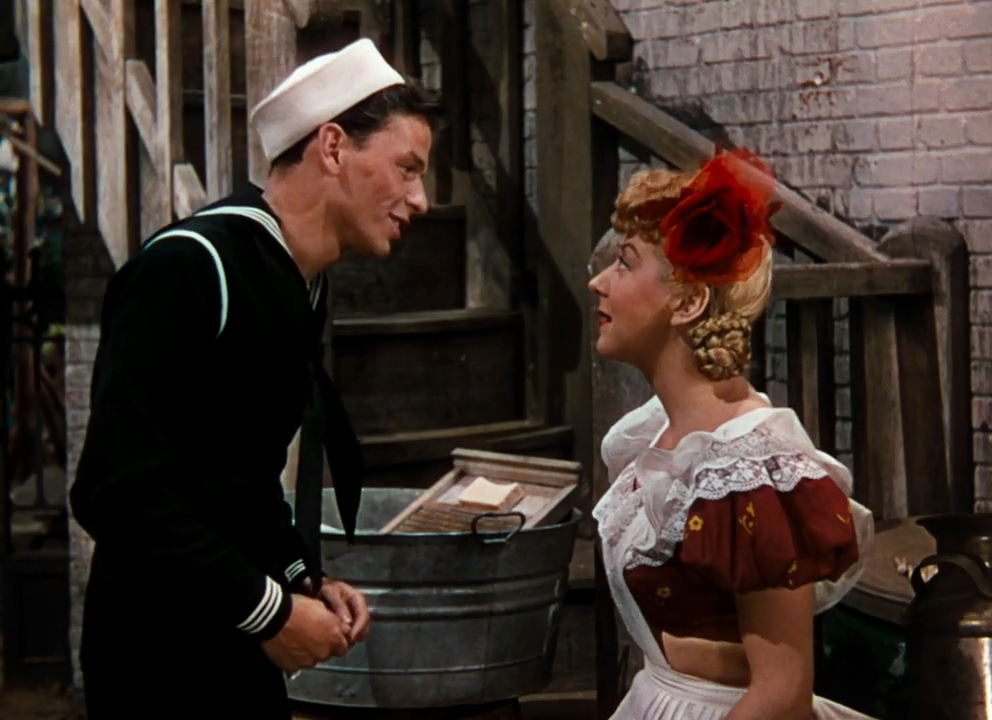 Frank Sinatra and Pamela Britton in Anchors Aweigh (1945)