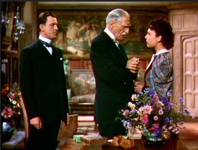 John Clements, June Duprez, and C. Aubrey Smith in The Four Feathers (1939)