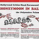 Madeleine Carroll, Allan Jones, Carolyn Lee, Fred MacMurray, Osa Massen, and Akim Tamiroff in Honeymoon in Bali (1939)