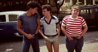 Yftach Katzur, Zachi Noy, and Jonathan Sagall in Eskimo Limon (1978)