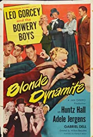 Blonde Dynamite (1950) Poster - Movie Forum, Cast, Reviews