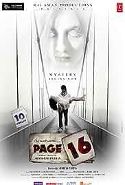 Page 16 (2018) HDRip Hindi Movie Watch Online Free