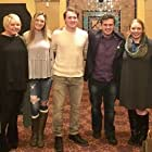 William Martinko, Hannah Rowan, Joseph Ciccone, Adam Bensinger, Meaghan McKiernan, Gretchen Giambrone, and John Anthony Seitz at an event for Teardrops of PainT (2017)