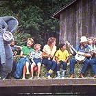 Sarah Dunning, Paula Gallivan, Sharon Hampson, Lois Lilienstein, Bram Morrison, Eric Nagler, and Robin Bleasdale in Sharon, Lois & Bram's Elephant Show (1984)