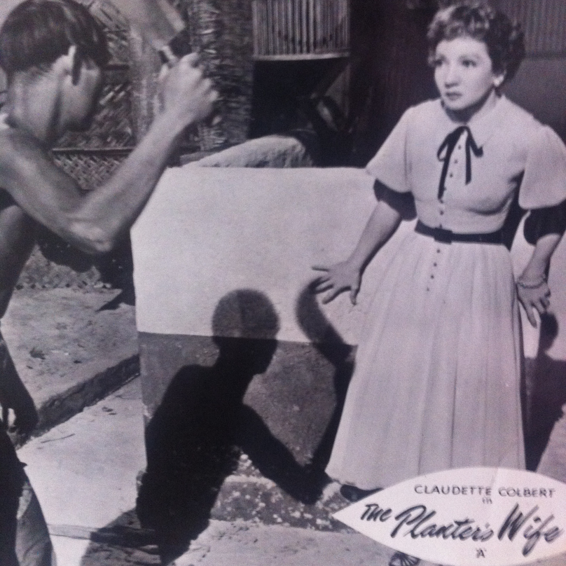 Claudette Colbert in The Planter's Wife (1952)