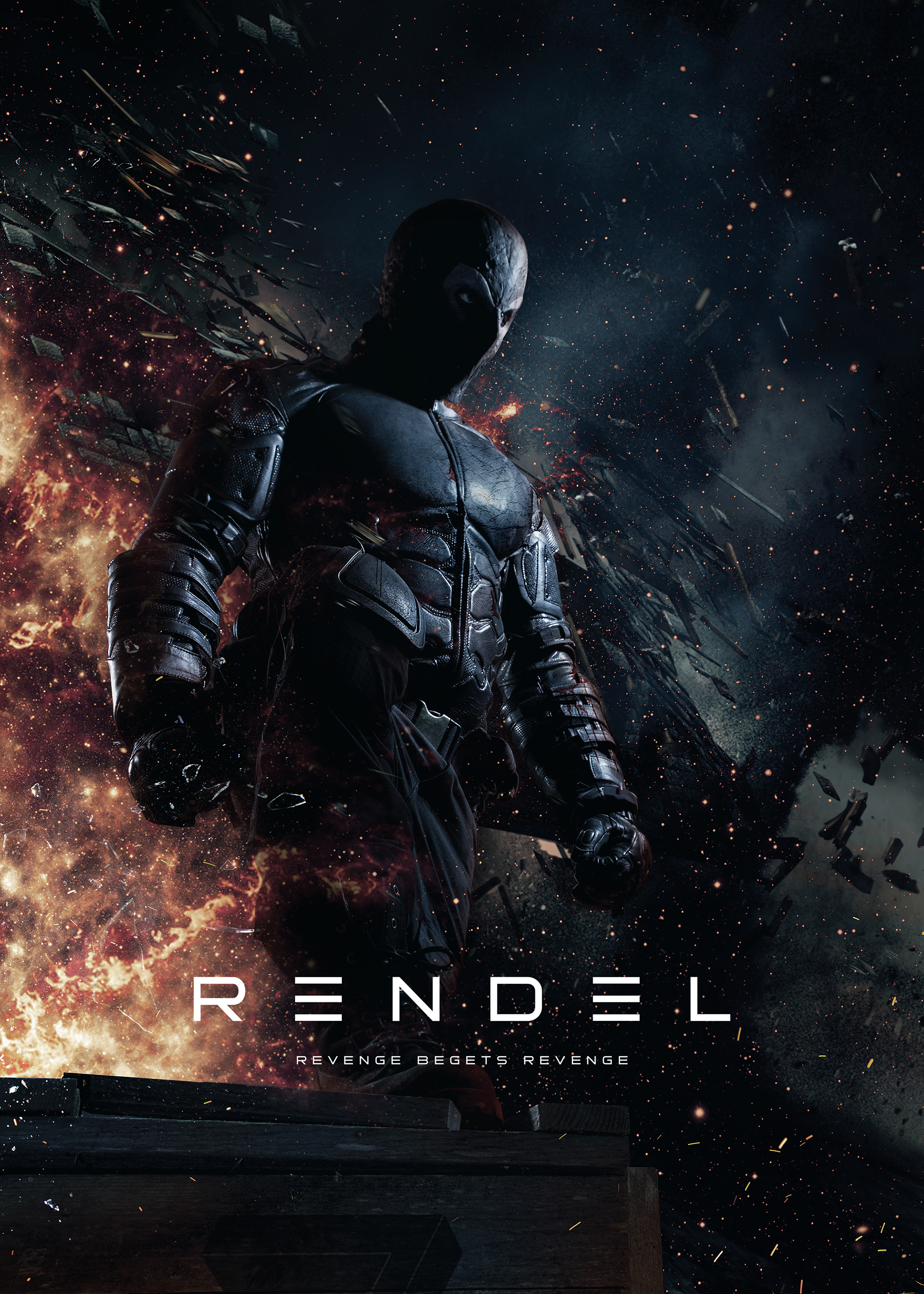 Rendel: Dark Vengeance (2017) BluRay 720p