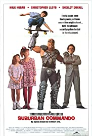 Suburban Commando (1991) Poster - Movie Forum, Cast, Reviews