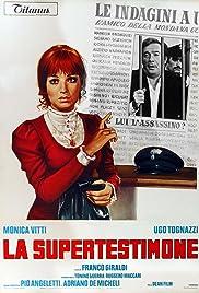 La supertestimone Poster