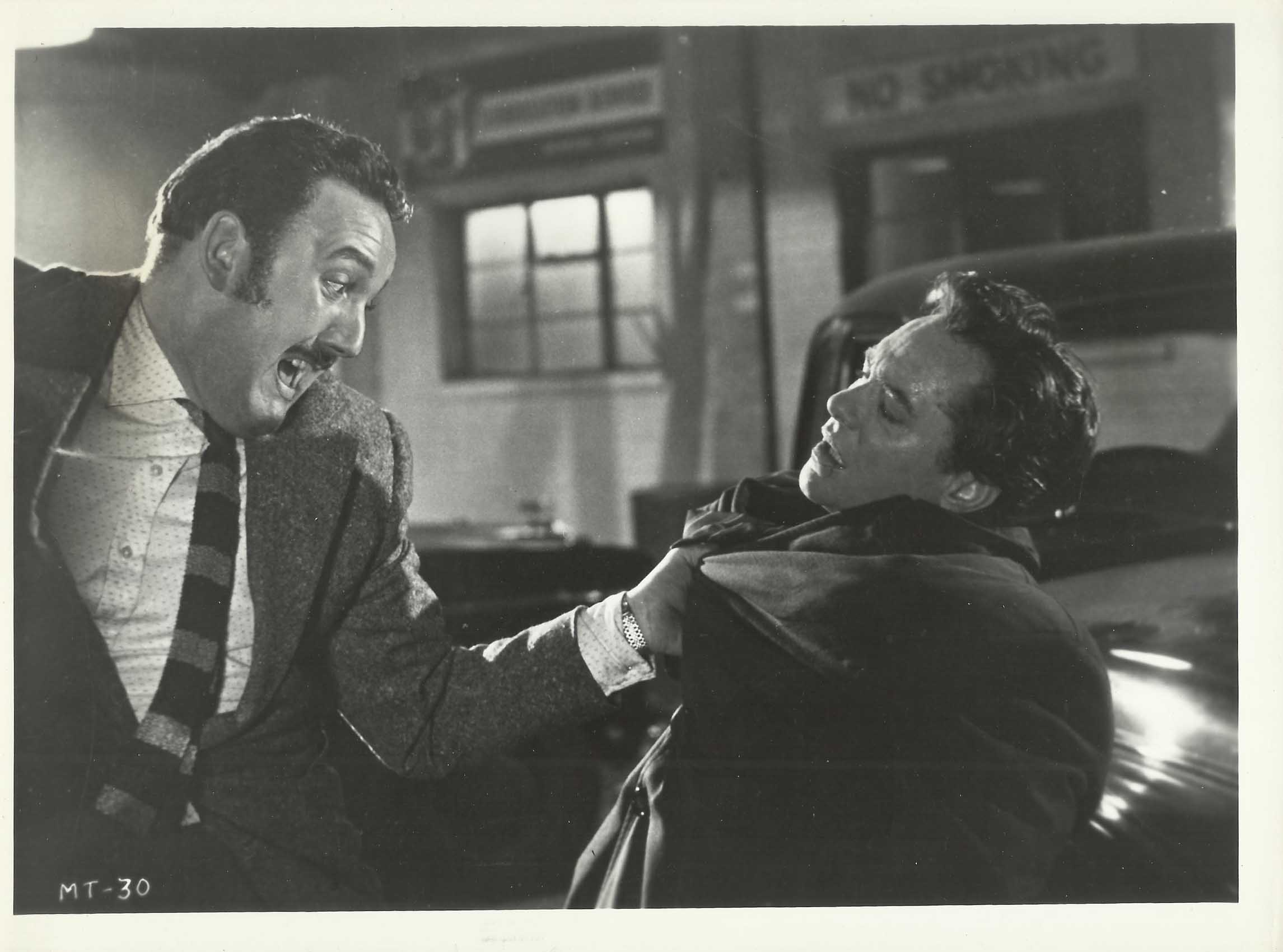 David Lodge and Richard Todd in Never Let Go (1960)