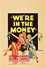 We're in the Money Poster
