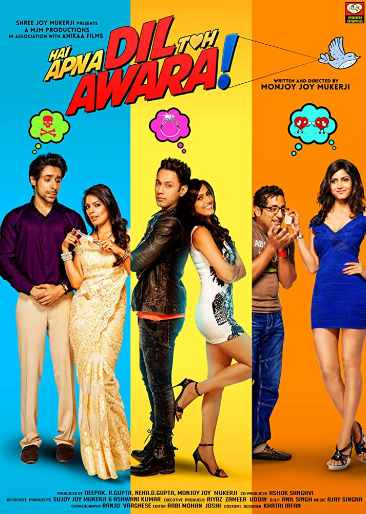 Hai Apna Dil Toh Awara (2016) Hindi 720p HDRip x264 ESubs