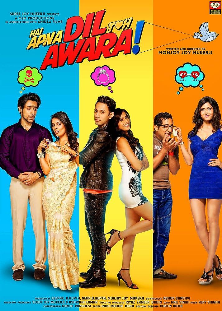 Hai Apna Dil Toh Awara (2016) Hindi 350MB HDRip 480p x264 ESubs