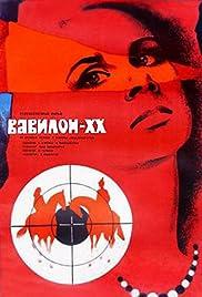 Vavilon XX Poster