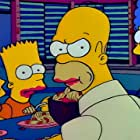 Julie Kavner, Nancy Cartwright, and Dan Castellaneta in The Simpsons (1989)