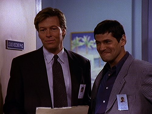 Thomas Calabro and Jack Wagner in Melrose Place (1992)