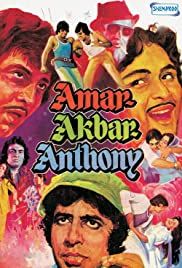 Amar, Akbar and Anthony Poster