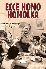 Matej Forman, Petr Forman, Frantisek Husák, Marie Motlová, Helena Ruzicková, and Josef Sebánek in Ecce homo Homolka (1970)