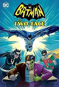 William Shatner, Adam West, Julie Newmar, and Burt Ward in Batman vs. Two-Face (2017)