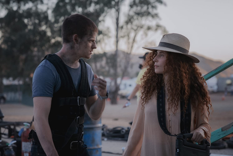 Lucas Hedges and Alma Har'el in Honey Boy (2019)