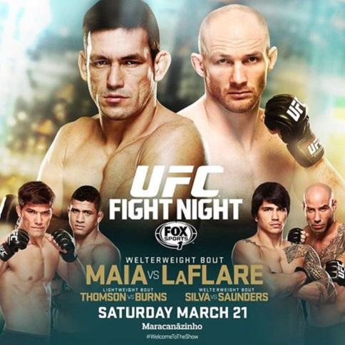 UFC Fight Night: Maia vs. LaFl...