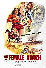 Jennifer Bishop, Aleshia Brevard, Leslie McRay, and Russ Tamblyn in The Female Bunch (1971)