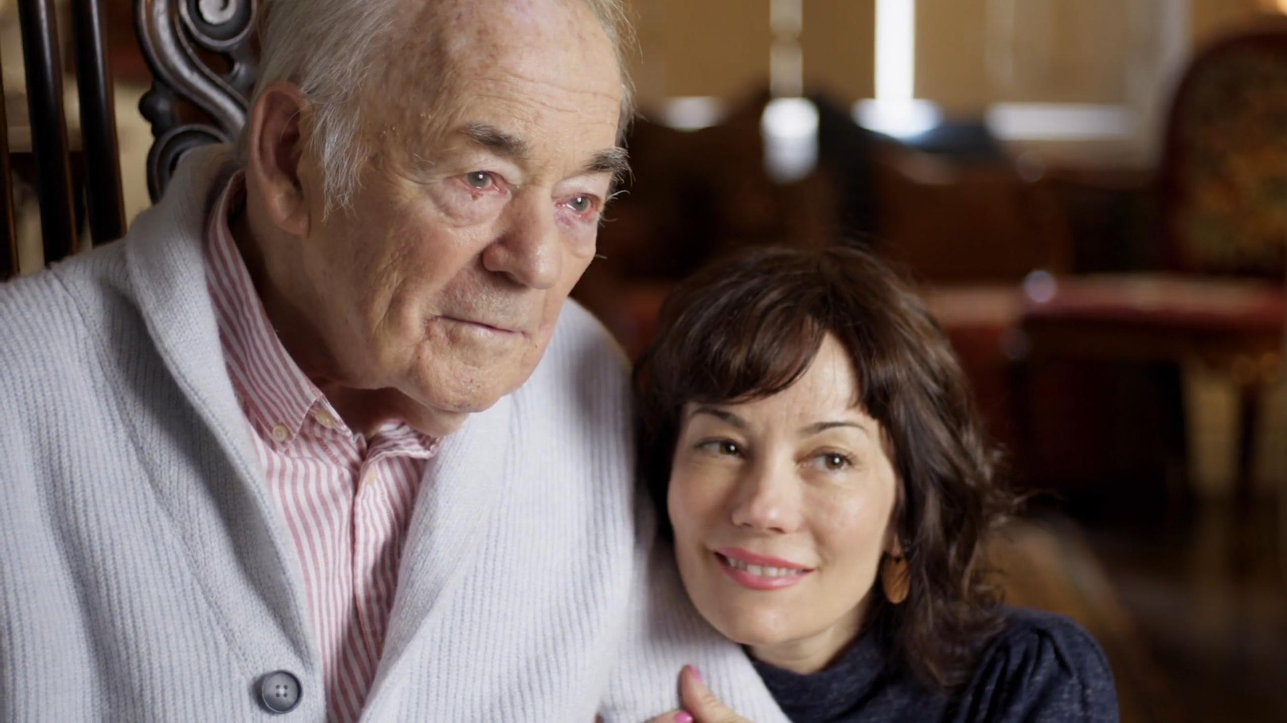 Richard Gregson and Natasha Gregson Wagner in Natalie Wood: What Remains Behind (2020)