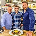 Dave Gorman, James Martin, and Tony Tobin in Saturday Morning with James Martin (2017)