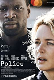 Omar Sy and Virginie Efira in Police (2020)
