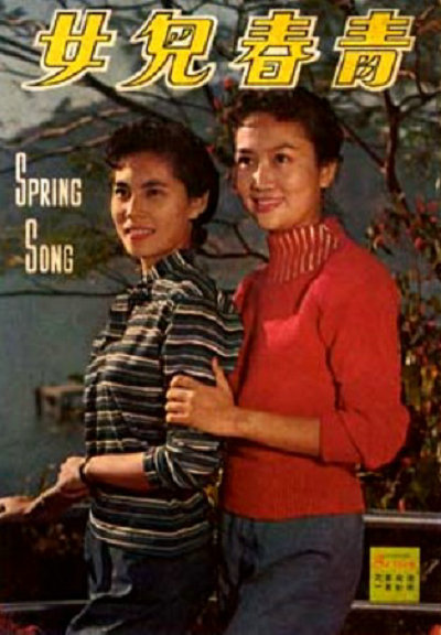 Grace Chang and Jeanette Lin Tsui in Qing chun er nu (1959)