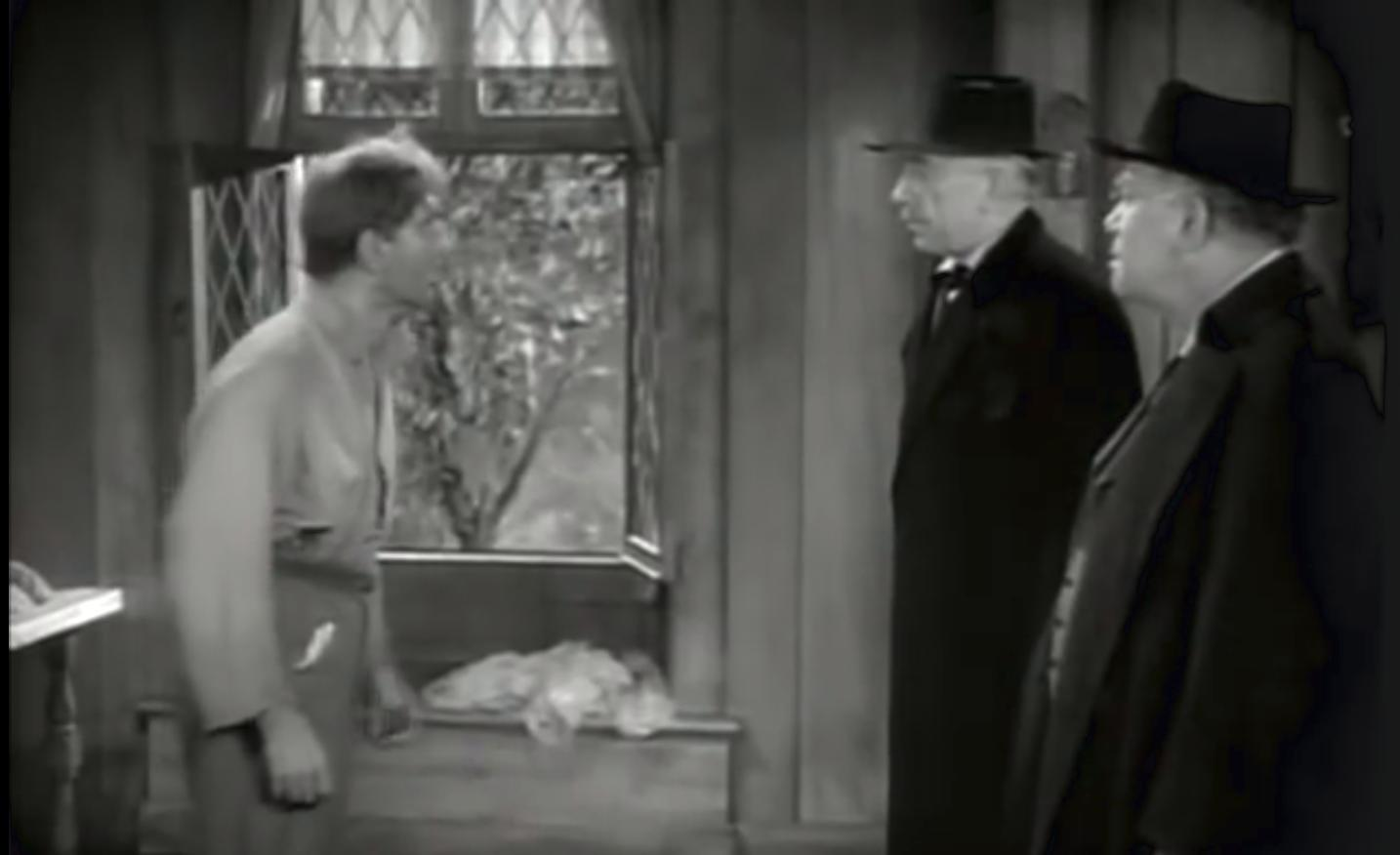 Oscar O'Shea, Joseph Schildkraut, and Will Wright in The Tell-Tale Heart (1941)