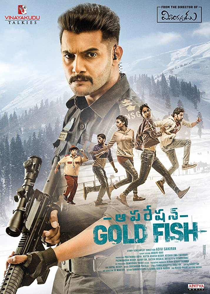 Mission Gold Fish 2020 Hindi Dubbed 720p HDRip 900MB Esubs