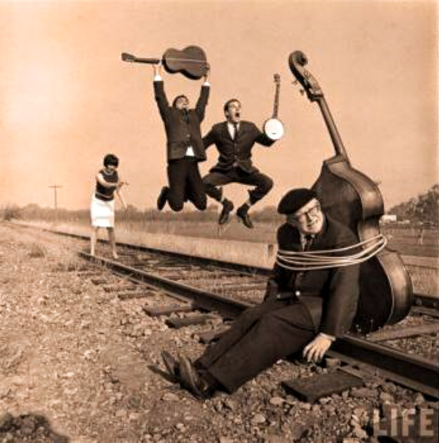 Cyrus Faryar, Judy Henske, Dave Guard, The Whiskeyhill Singers, and David Buck Wheat