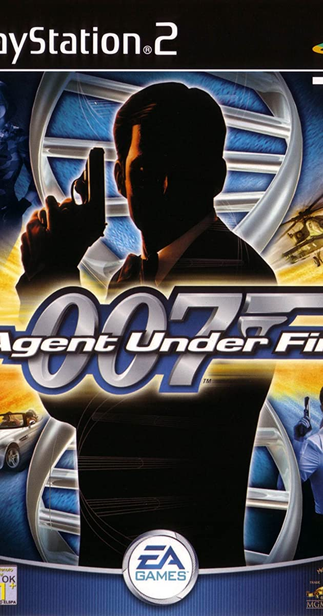 james bond in agent under fire  video game 2001