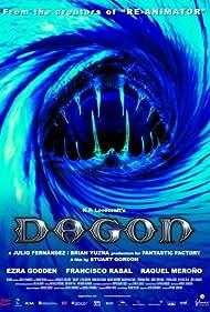Ezra Godden, Raquel Meroño, and Francisco Rabal in Dagon (2001)