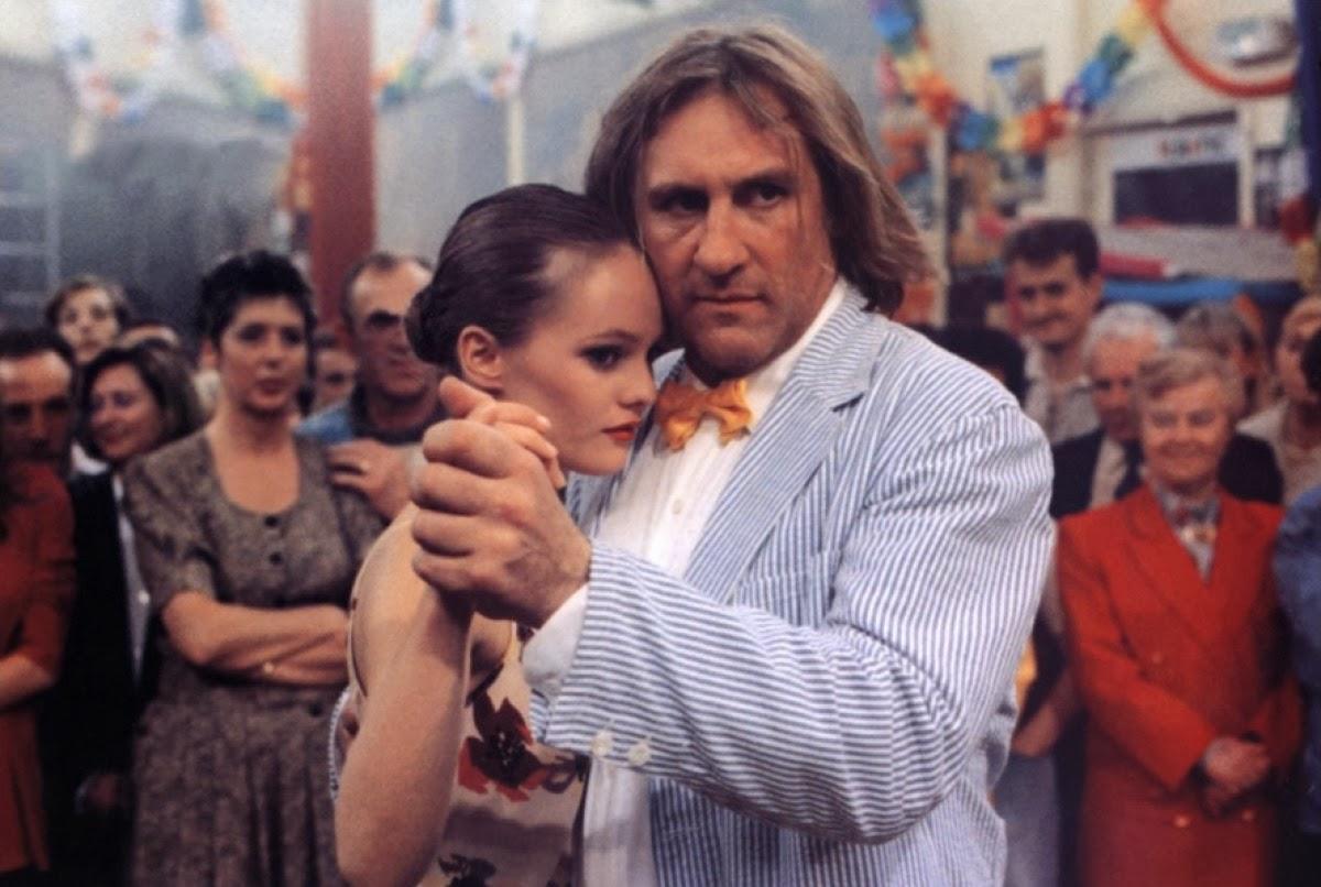 Gérard Depardieu and Vanessa Paradis in Élisa (1995)