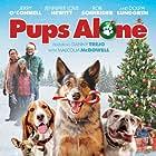 Dolph Lundgren, Jennifer Love Hewitt, Rob Schneider, Jerry O'Connell, Tyler Hollinger, and Isadora Swann in Pups Alone (2021)