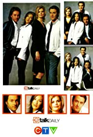Tanya Kim, Ben Mulroney, David Giammarco, and Jacintha Wesselingh in eTalk Daily (2002)