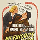 Bob Hope and Madeleine Carroll in My Favorite Blonde (1942)