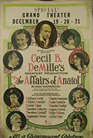 The Affairs of Anatol (1921) Poster - Movie Forum, Cast, Reviews