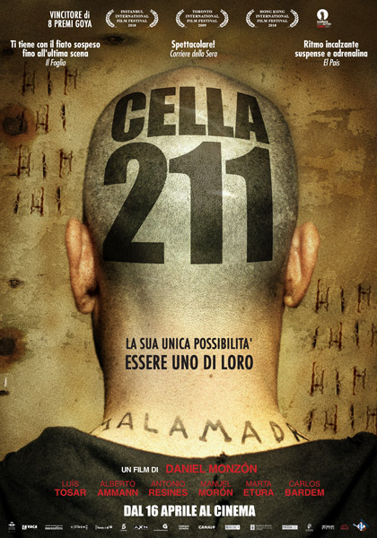 Cell 211 (2009) ORG Hindi Dual Audio 480p BluRay ESubs 350MB Download