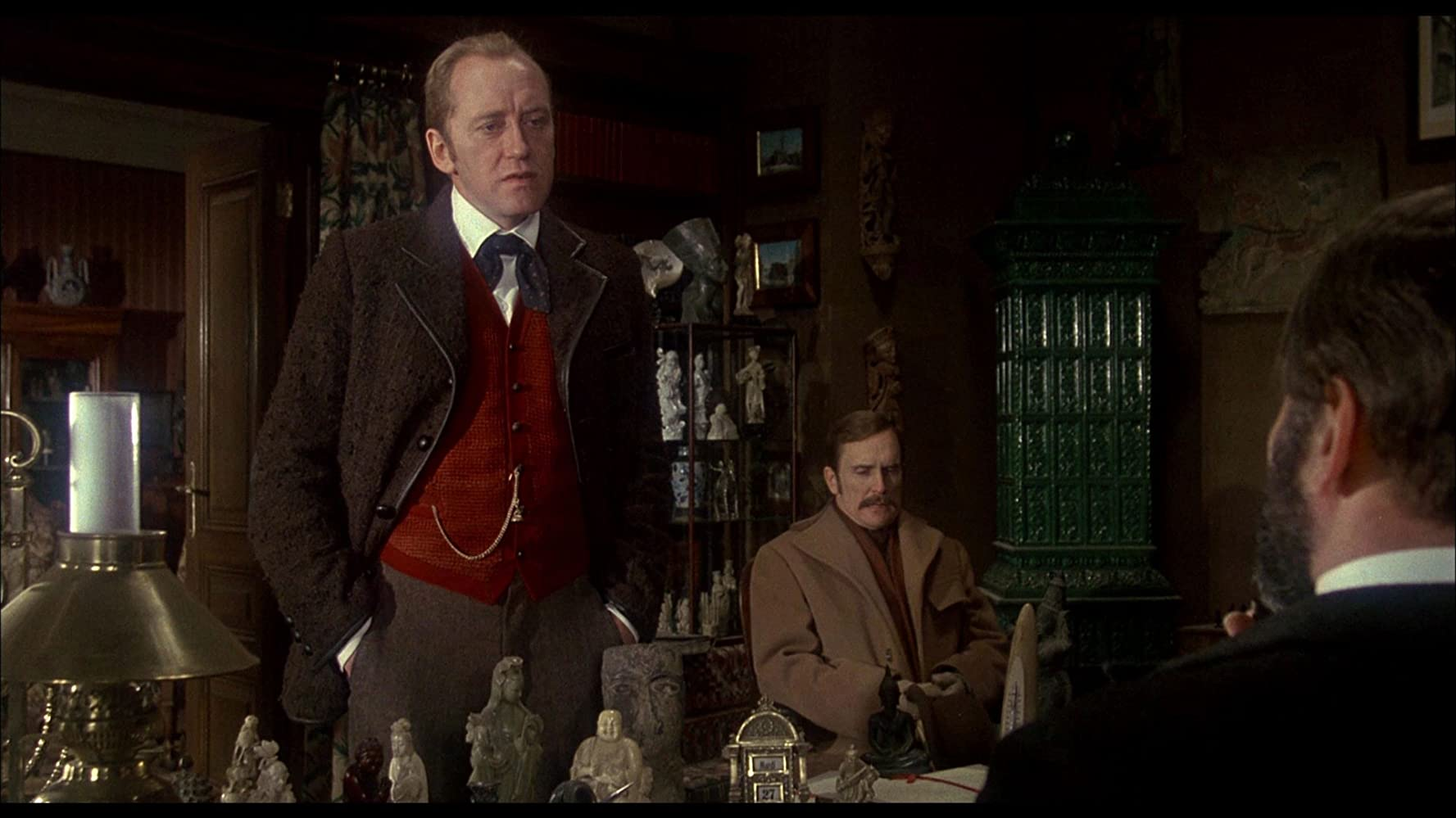 Robert Duvall and Nicol Williamson in The Seven-Per-Cent Solution (1976)