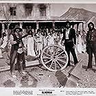 Tony Anthony, Lloyd Battista, Shirley Corrigan, Malisa Longo, Krista Nell, Ringo Starr, and Melù Valente in Blindman (1971)