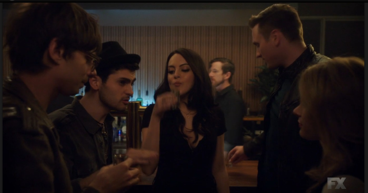 Jack Leary, Elizabeth Gillies, Samantha Able, and Alessandro Chillé in Sex & Drugs & Rock & Roll (2015)
