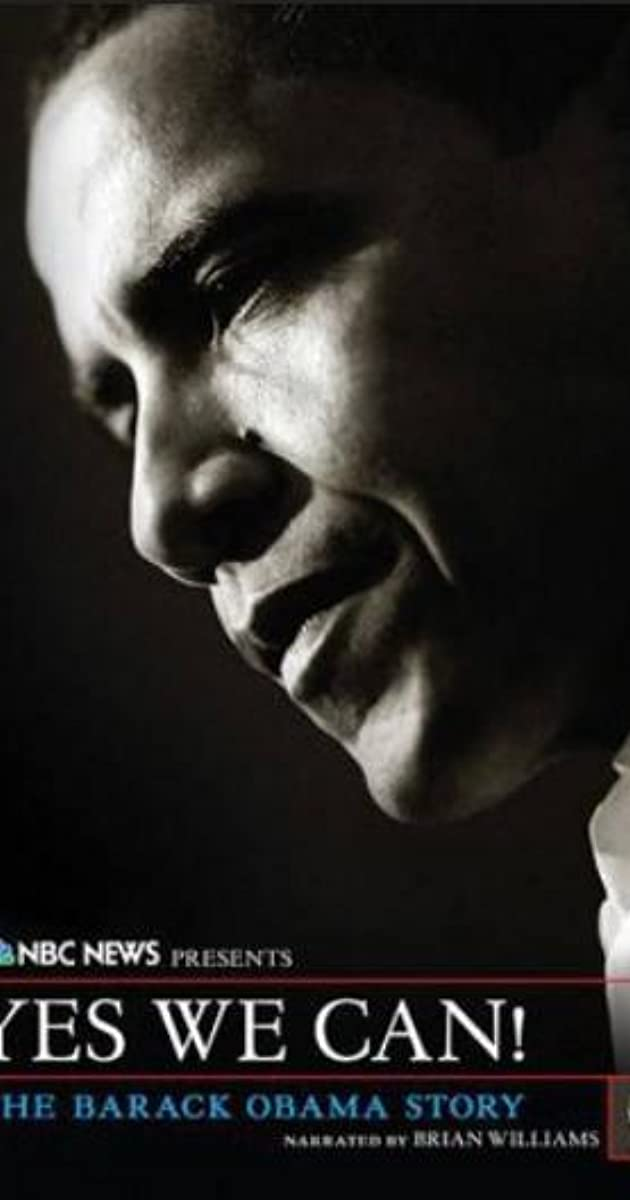 Yes We Can The Barack Obama Story Video 2009 Imdb