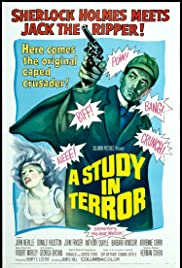 A Study in Terror (1965) Poster - Movie Forum, Cast, Reviews